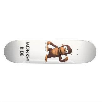 Monkey Ride Skate Board Deck