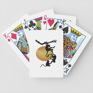 Monkey See Monkey Do Bicycle Playing Cards