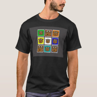 Monkey Stamp Grey T-Shirt