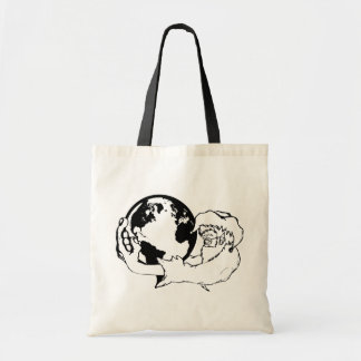 monkey vision tote bag