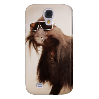 Monkey with glsses galaxy s4 case
