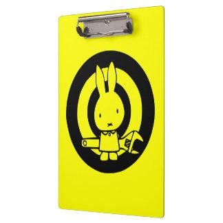Monkey Wrench Rabbit Clipboards