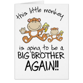 monkeying around again card