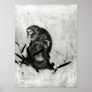 Monkeys Poster
