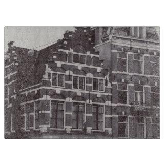 Monochrome Asmterdam Architecture Cutting Board