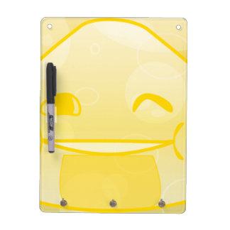 Monochrome Happyness! Dry Erase Whiteboard