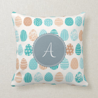 Monogram 'A' Throw Pillow