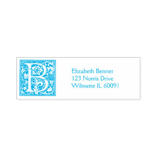 Monogram Address Self-inking Stamp