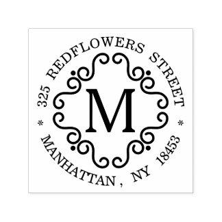 Monogram Address Stamp