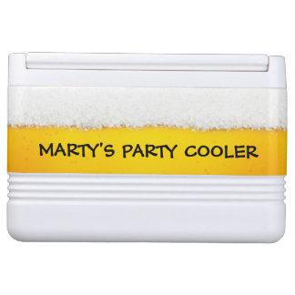 Monogram Beer Theme Chilly Bin