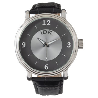 MONOGRAM CLASSIC | silver and black Watch