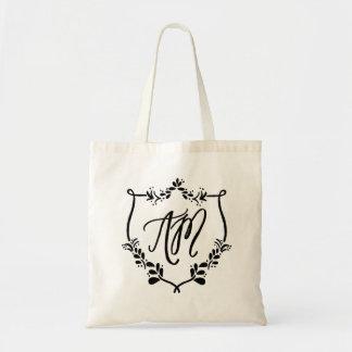 Monogram & Crest Tote Bag