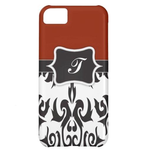 Monogram Damask iPhone 5C Cover