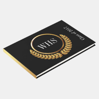 Monogram Guest, Memory, Graduation Book