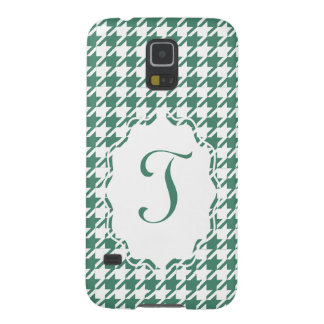 Monogram Houndstooth Samsung Galaxy S5 Phone Case