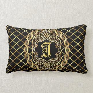 Monogram I IMPORTANT Read About Design Lumbar Pillow