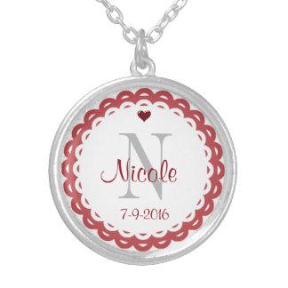 Monogram Ladies Necklace