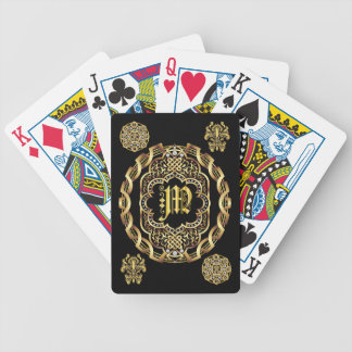 Monogram M IMPORTANT Read About Design Bicycle Playing Cards