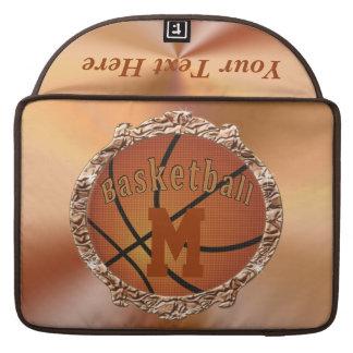 Monogram MacBook Pro Case BASKETBALL Case for HER MacBook Pro Sleeves