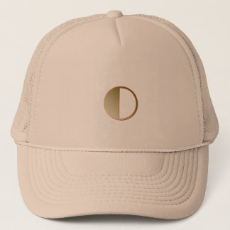 Monogram On Brown Trucker Hat