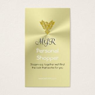 Monogram, Personal Shopper, Gold-look Phoenix