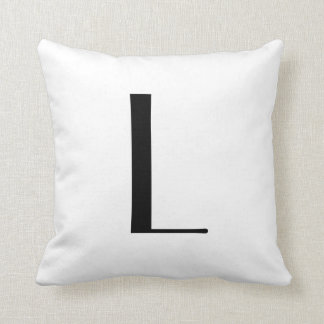 Monogram Pillows Letter L