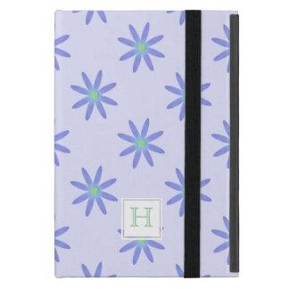 Monogram Purple Daisy :Powis iCase iPad Mini Case