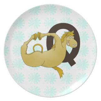 Funny Fat Pony Plates Zazzleconz