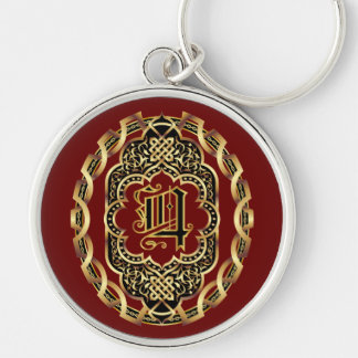 Monogram Q Fits all Customize Edit For Back Color Key Ring