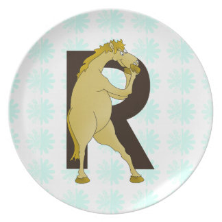 Funny Horse Plates Zazzleconz