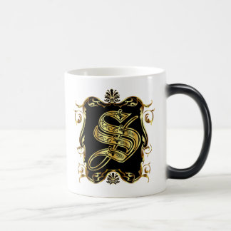 Monogram S One of a kind View notes please Coffee Mugs