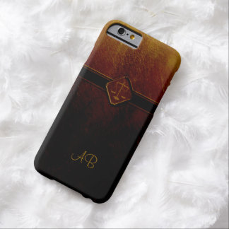 Monogram Scales of Justice Barely There iPhone 6 Case