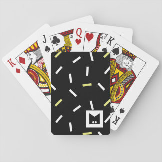 Monogram Series: Memphis Stuck in the Eighties Playing Cards
