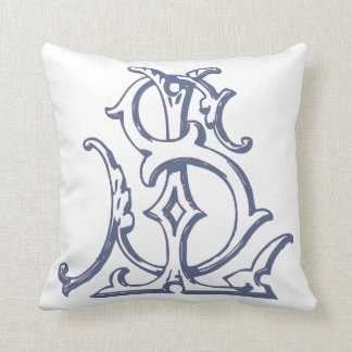 Monogram SL/LS Pillow Cushions