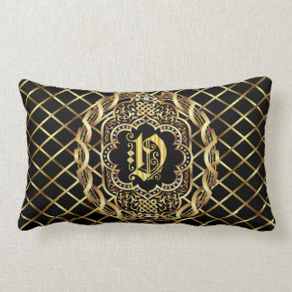 Monogram V IMPORTANT Read About Design Lumbar Pillow