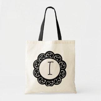 Monogram Wedding Favor Bag
