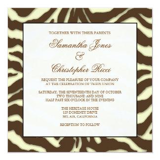 Monogram, Wedding Invitations