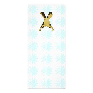 Monogram X Agile Pony Customized Personalised Rack Card