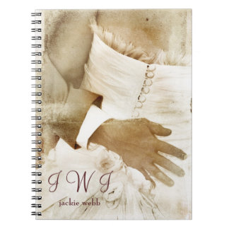 Monogrammed Bridal Journal Notebook