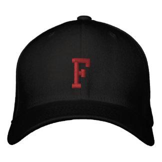 Monogrammed F Adjustable Cap