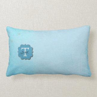 Monogrammed Lumbar Pillow