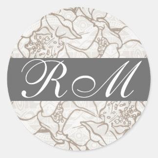 Monogrammed  Sticker