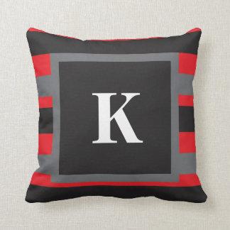 Monogrammed Throw Pillow