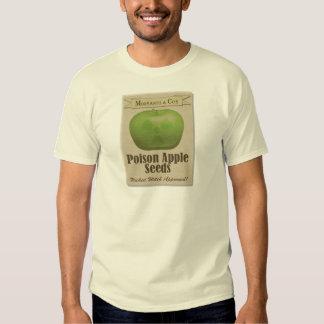 Monsanto Poison Apple Seeds T Shirt