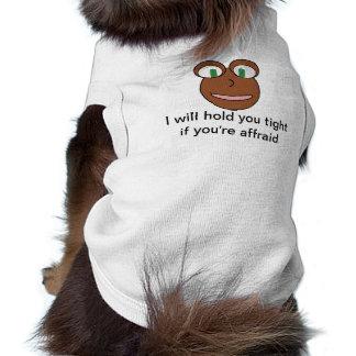 Monster cuddle buddy shirt