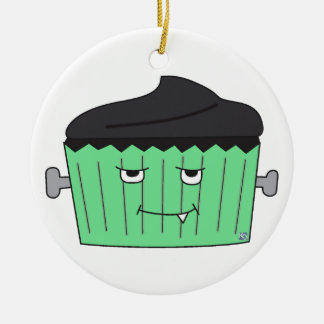 Monster Cupcake Ornament