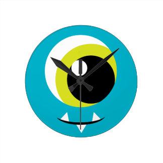 Monster Eye Wall Clock for Kids