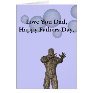 Monster Fathers Day Card