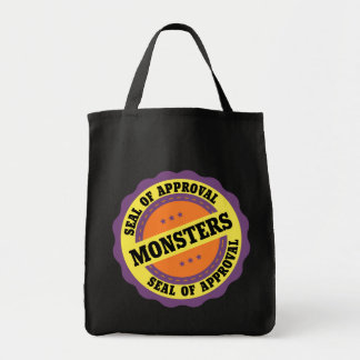 Monster Seal of Approval Bag