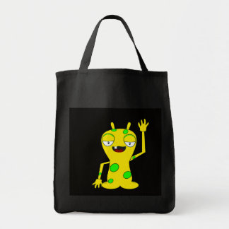 Monster Waving Tote Bag